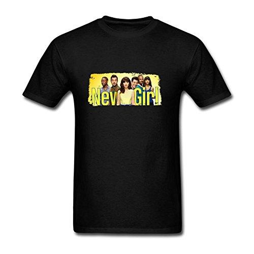 judian-new-girl-tv-show-poster-t-shirt-for-men