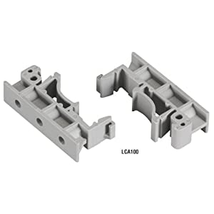 Secure Device Server DIN Rail Mounting Kits, For 4-Port Models from BLACKBOX NETWORK SERVICE