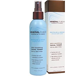Mineral Fusion Natural Brands Skin Soothing Facial Toner, 6 fl. oz. by Mineral Fusion