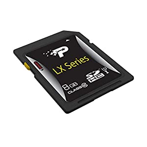 Patriot 8GB Class 10 SDHC Flash Memory Card For Camera-PSF8GSDHC10
