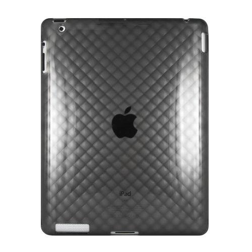 【ipad2専用】+TPU素材 ダイアモンド柄 iPad2 ケース 【TPU+カバー、ケース】 アップル+iPad2+専用ケース