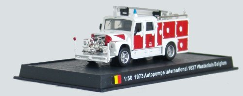 Autopompe International - 1973 diecast 1:50 fire truck model (Amercom SF-13) - 1