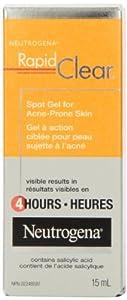 Neutrogena Rapid Clear Acne 8 Hours-Spot Gel For Acne-Prone Skin 15 ml
