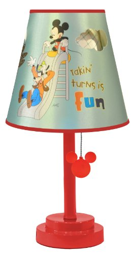 Disney Table Lamp : Disney mickey mouse die cut table lamp fbdkjshgk