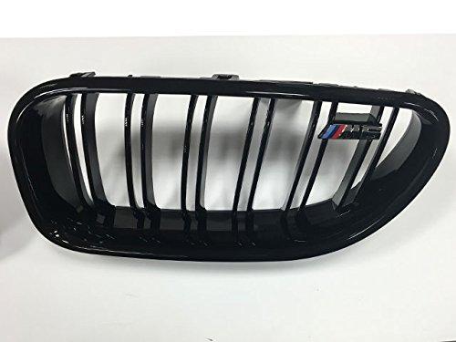 BMW F06F12F136Serie Nieren gittereinsätze glänzend schwarz M6Stil