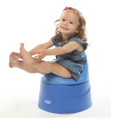 Kidsmile Unisex High Quality Kids Baby Potty Training Toilet Seat Chair 3pcs Set Blue
