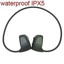 Nwz-w262 Ipx5 Waterproof 2gb Headphone Sport Mp3 Music Player - Black