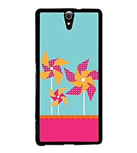 Windmill Wallpaper 2D Hard Polycarbonate Designer Back Case Cover for Sony Xperia C5 Ultra Dual :: Sony Xperia C5 E5533 E5563