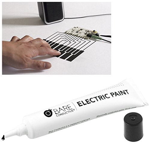 Bare Conductive Electric Paint make electricity pass through liake a wire10ml (Conductive Paint Pen compare prices)