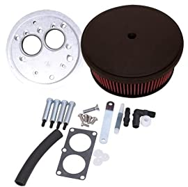 Arlen Ness Big Sucker Air Filter Kit For Suzuki M109R 2006-2012 - Black - S-1001