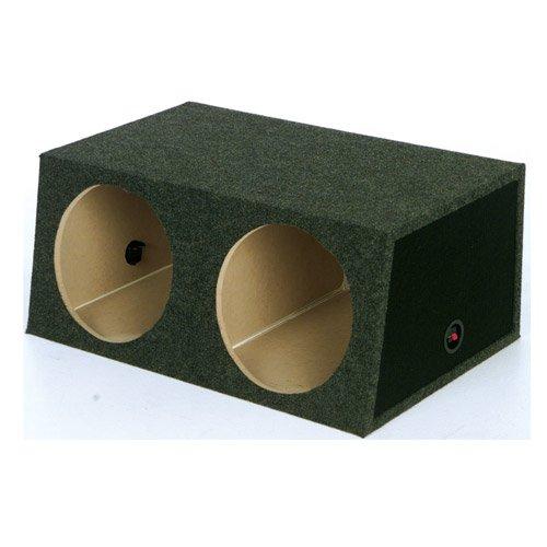Q Power Small Dual 10-Inch Unloaded Box