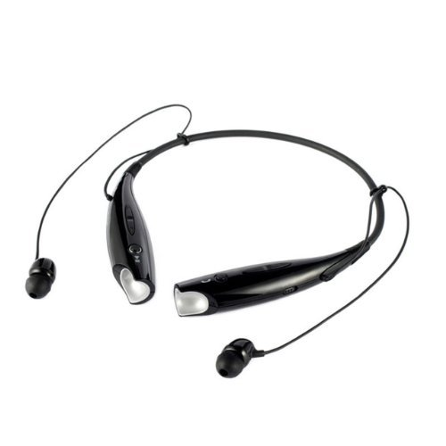 Nuoya001 Black Wireless Bluetooth Headset Earphone Stereo For Cellphone Laptop Tablet