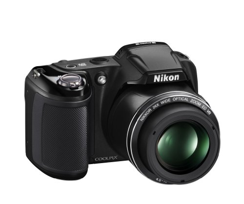 Nikon COOLPIX L810 16.1 MP Digital Camera with 26x Zoom NIKKOR ED Glass Lens and 3-inch LCD (Black): NIKON