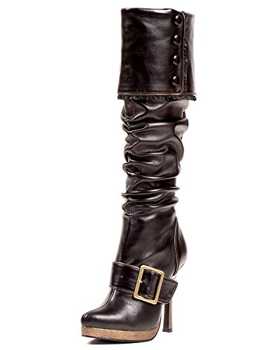 4 Inch Sexy Knee High Boots Gypsy Costume Accessories Scrunch Boot Buckle