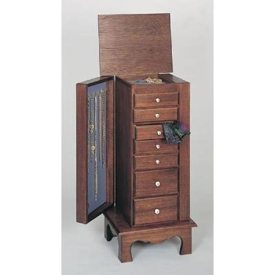 Woodworking Project Paper Plan to Build Jewelry and Lingerie Chest