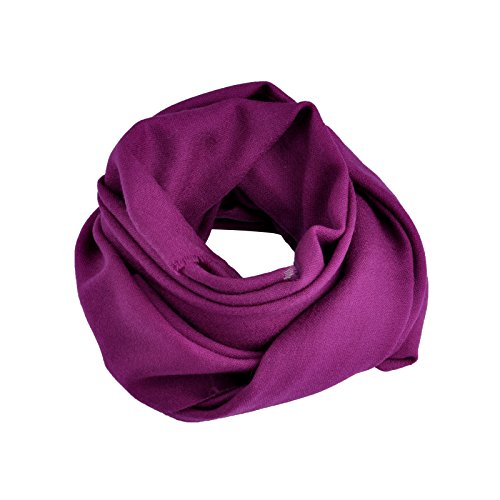 Smartodoors Cashmere scarf wrap shawls for ladies and women in Purple