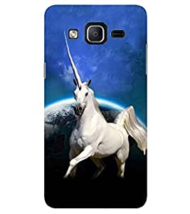 Evaluze UNICORN Printed Back Cover for SAMSUNG GALAXY ON7 2015