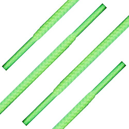 "36"" (91 Cm) Neon Green Shoelaces (Round)"