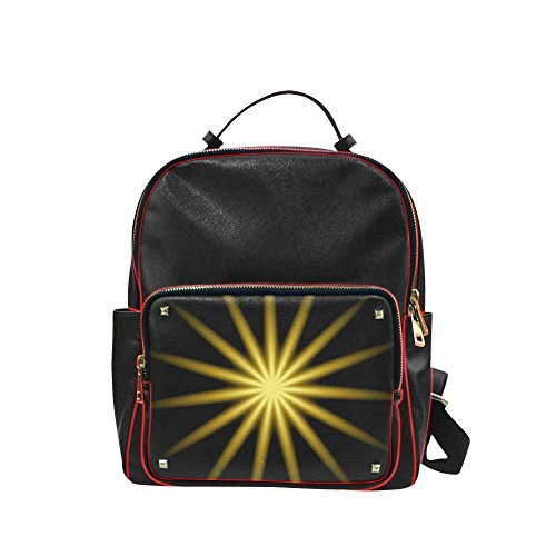 artsadd-personalizado-mochila-golden-starburst-campus-mochila-casual-mochila-bolso-de-escuela-tamano