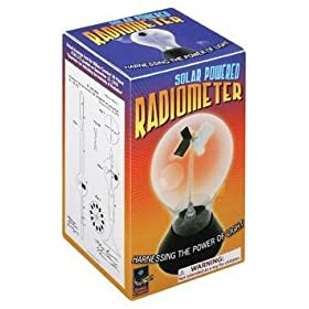 Radiometer-Light Energy into Mechanical Energy Overstock Sale