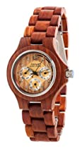 Tense Mens Wood Watch Sandalwood Hypoallergenic G4300S
