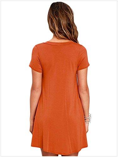 meinice-casual-cordones-swing-vestido-naranja-naranja-medium