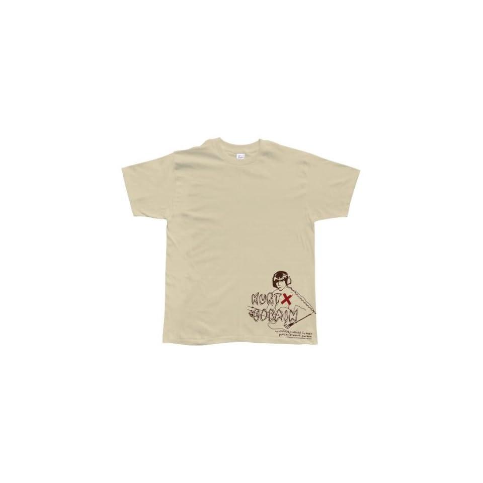 Kurt Cobain   Virgin Jagstang T Shirt