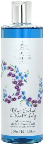 Boschi di Windsor Blue Orchid e Water Lily Idratante Bagno e Doccia Gel 350ml, 1er Pack (1 x 150 ml)