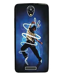 Techno Gadgets Back Cover for Intex Aqua Star Power