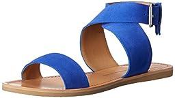 Dolce Vita Women\'s Julius Gladiator Sandal, Blue, 7 M US
