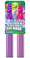 Crayola Giant Outdoor Colored Bubbles 2-Pack