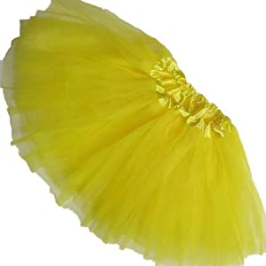 Girls Ballet Tutu Yellow by Coxlures TOY from Coxlures