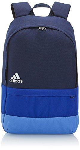 Adidas, Zaino Versatile Block, Blu (Collegiate Navy/Collegiate Royal/Lucky Blue S15/White), 14 x 29 x 46 cm, 23 litri