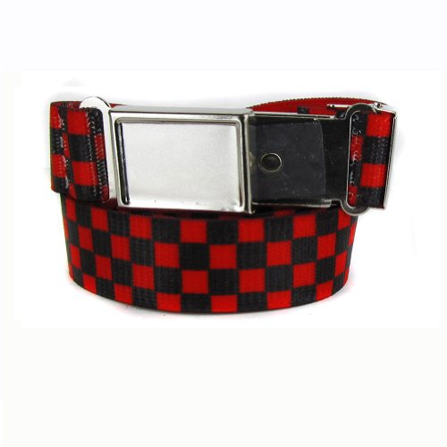 Picture for The Perfect Necktie Black Red Boys Kids Belt