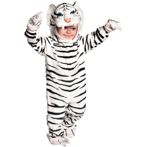 White Tiger Costume - Medium