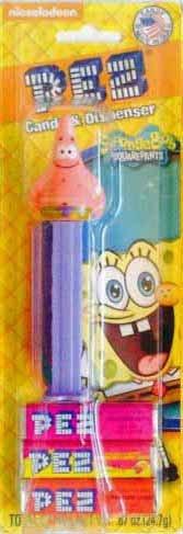 Pez SpongeBob Squarepants Patrick Candy Dispenser 0.87 Oz (Patrick Pez Dispenser compare prices)