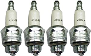Champion J19LM-4pk Copper Plus Small Engine Spark Plug Stock # 861 (4 Pack) from Champion