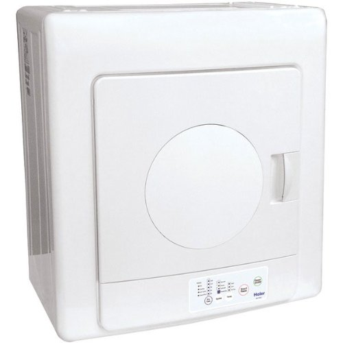 Haier HLP140E 2-3/5-Cubic-Foot Compact Tumble Vented Dryer:
