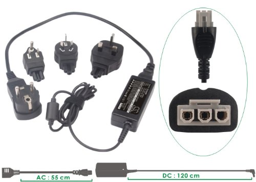 Power2tek Printer / Scanner Adapter Supply Fits to HP Photosmart C4390, Deskjet F4180, Deskjet D2465 +FREE Tool Set мфу hp deskjet ink advantage 5275