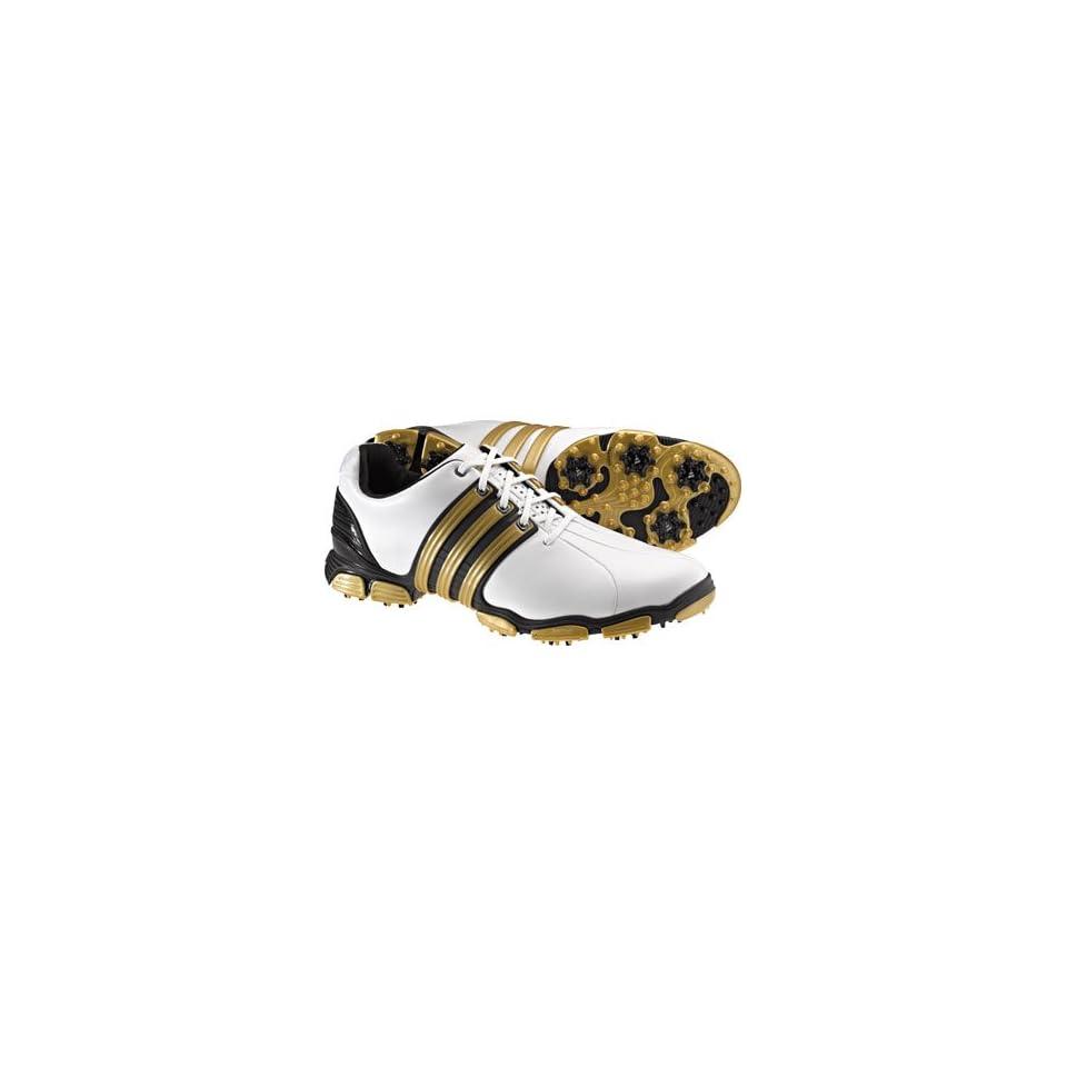 305ce85af6c adidas Mens TOUR360 4.0 White Black Metallic Gold Golf on PopScreen