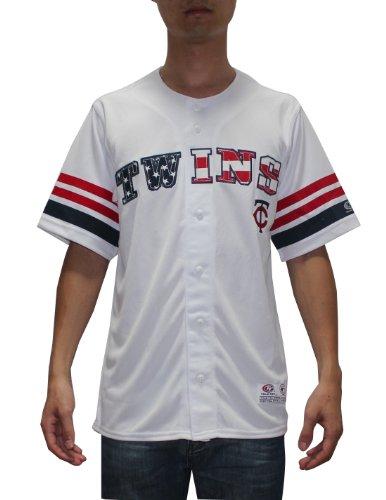 LIMITED EDITION: MLB Mens Minnesota Twins Baseball Dri-Fit Athletic Top M White