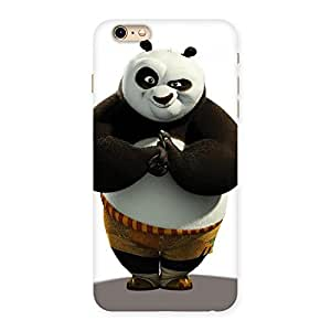 Stylish Punching Panda White Black Back Case Cover for iPhone 6 Plus 6S Plus