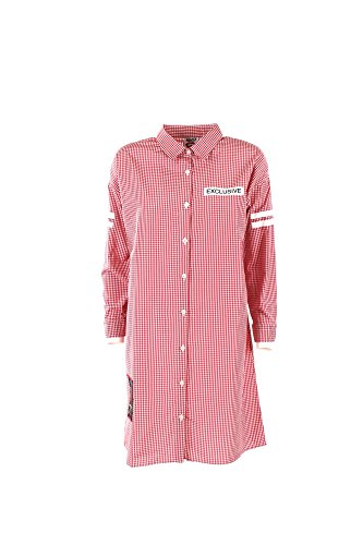 Follow Us FUD909 Camicia Donna Rosso Xs