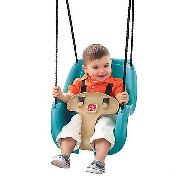 Baby Swing Tree Swinging Blue Child Safety Little Tike Outdoor Durable Hook (Outdoor Commercial Baby Swing compare prices)