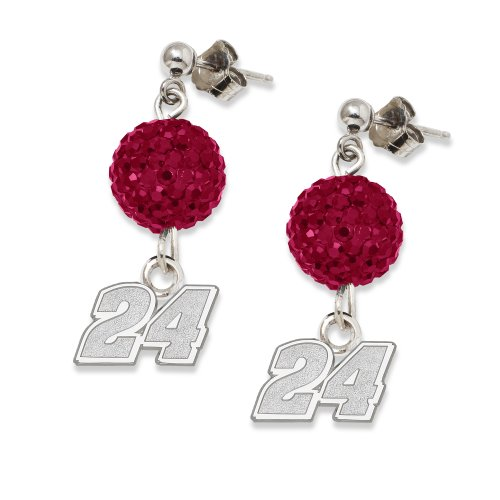NASCAR Jeff Gordon LogoArt Ovation Earrings