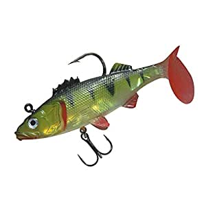Nwpe5 5 fishing lures tackle hooks brand new for Amazon fishing spinners