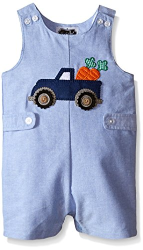 Mud Pie Baby Easter Truck Romper, Multi, 12-18 Months (Mud Pie Easter 18 Months compare prices)