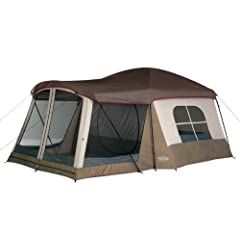 NEW Light Grey Wenzel Klondike Weather Repellent Polyester Family Cabin Tent by Generic