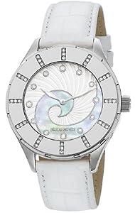 Pierre Cardin Damen-Armbanduhr L'horizon Analog Quarz Leder PC105112F01