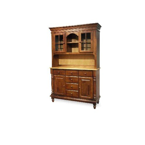 Buy Low Price International Concepts Black,Cherry International Concepts Madison Park 51″ Buffet Hutch in Multiple Finishes (H57-80)
